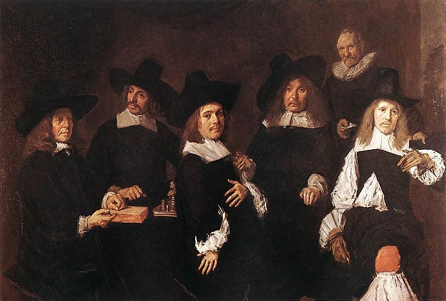 Regents of the Old Men's Alms House by Frans Hals, 1580-1666, Frans Hals Museum, Haarlem