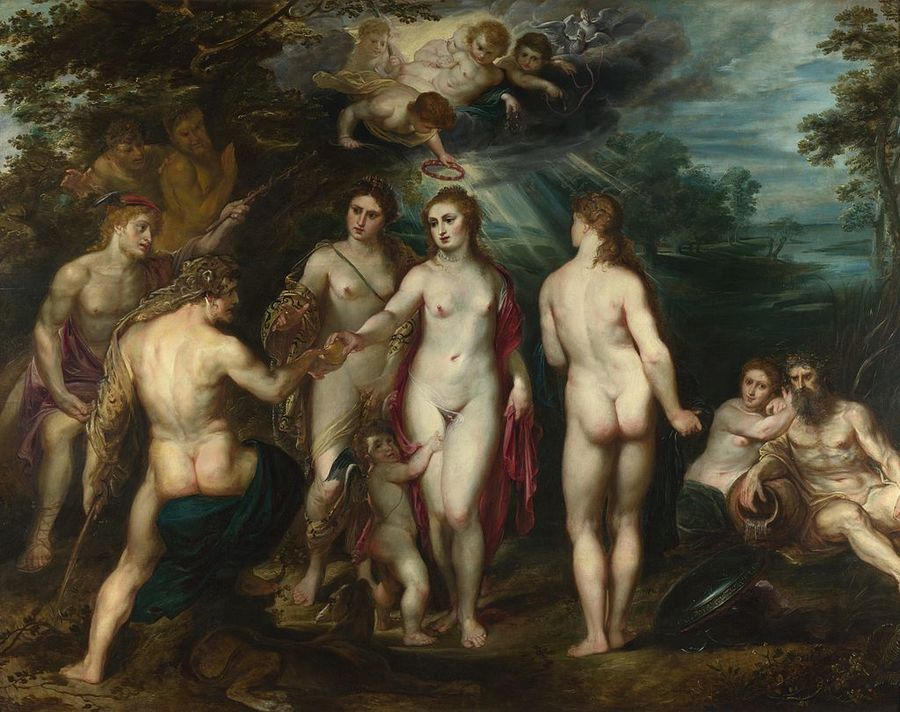 The Judgement of Paris by Peter Paul Rubens, 1577—1640, National Gallery, London