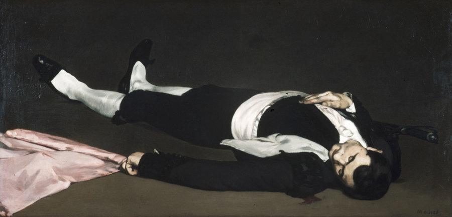 Dead Toreador by Edouard Manet, 1832-83