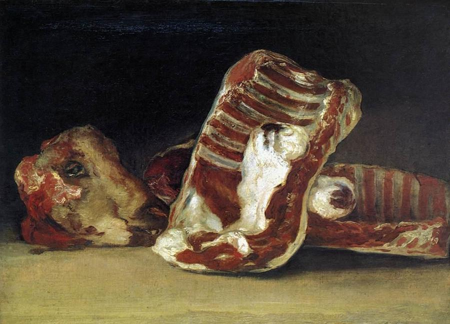 Still Life by Francisco Goya, 1746-1828, Louvre, Paris