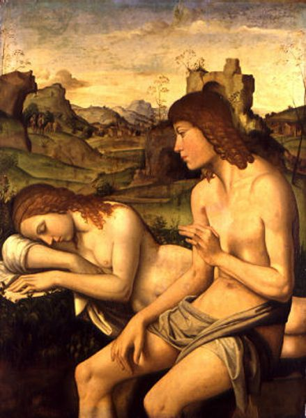 Daphnis and Chloe by Bianchi Ferrari, Wallace Collection, London