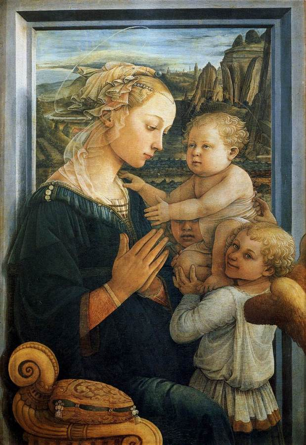 Madonna and Child by Fra Filippo Lippi, 1457/8-1504