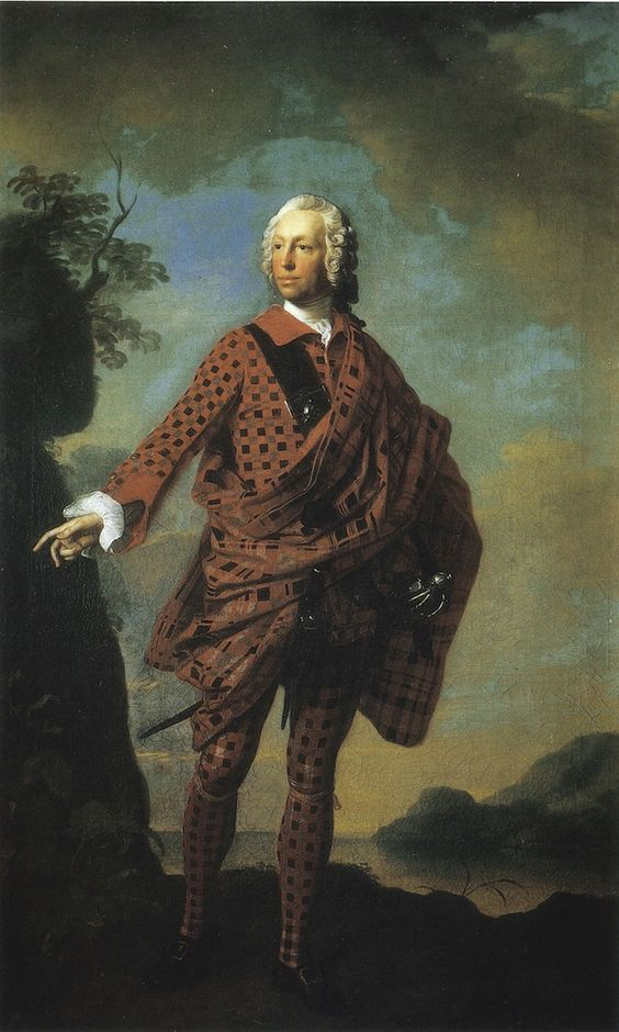 Norman, 22nd Chief of Macleod by Allan Ramsay, 1713-84, Dunvegan Castle