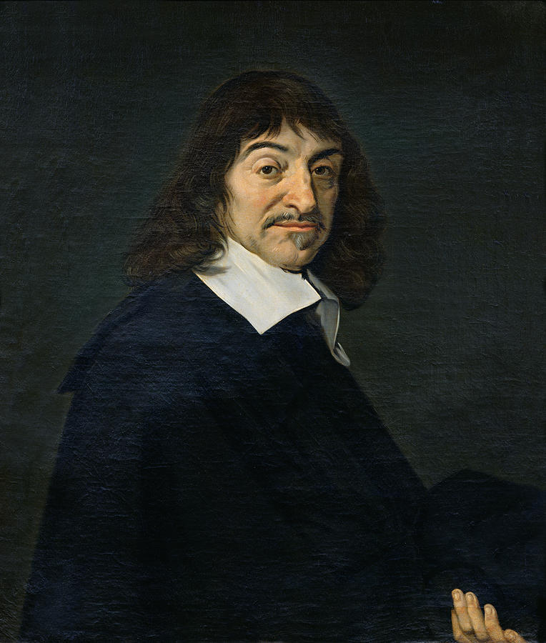 Descartes by Frans Hals, 1580/5-1666, Copenhagen