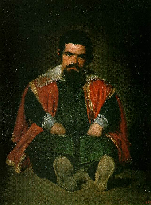 Court Fool by Diego Velasquez, 1599-1660, Prado, Madrid