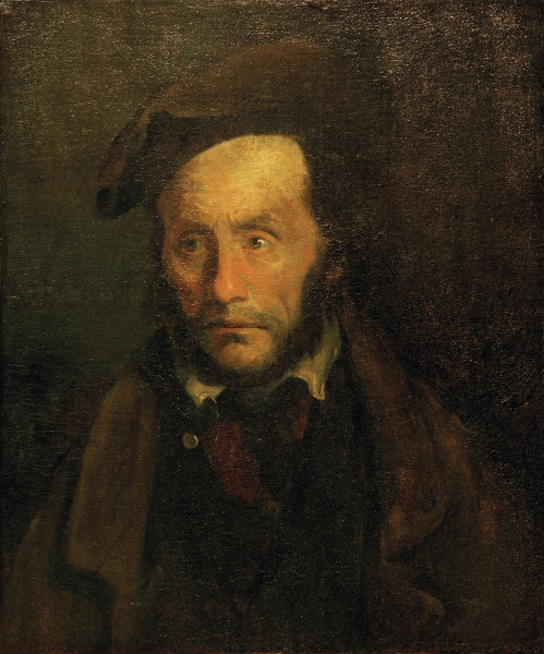 Mad Kidnapper by Theodore Gericault, 1791-1824, Springfield, Massachusetts