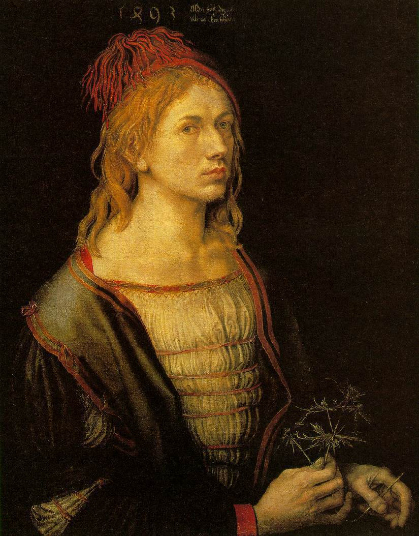 Self-Portrait by Albrecht Durer, 1471-1528