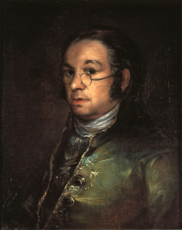 Self-Portrait by Goya, 1746-1828, Musee Castres