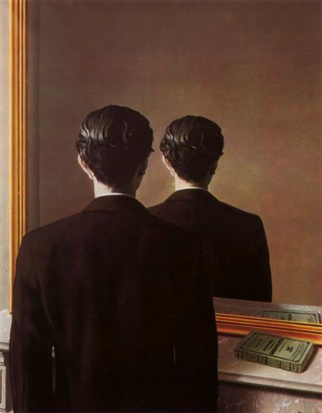 Not to be reproduced by Rene Magritte, 1898-1967, Collection E. F. W. James, Sussex