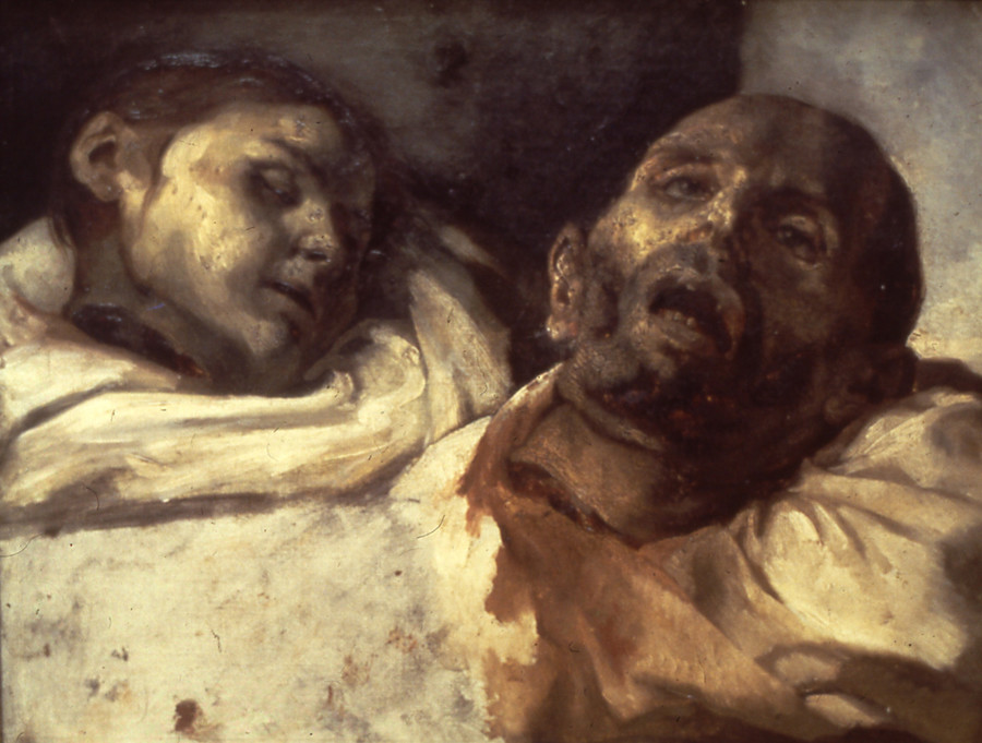 Guillotined Heads by Theodore Gericault, 1791-1824, National Museum, Stockholm