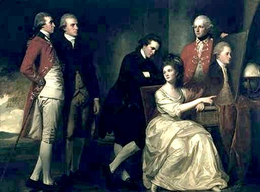 The Beaumont Family by George Romney, 1734-1802, Tate Gallery, London