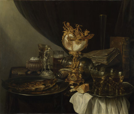 Still Life ascribed to Pieter Claesz, 1596/7—1661, National Gallery, London