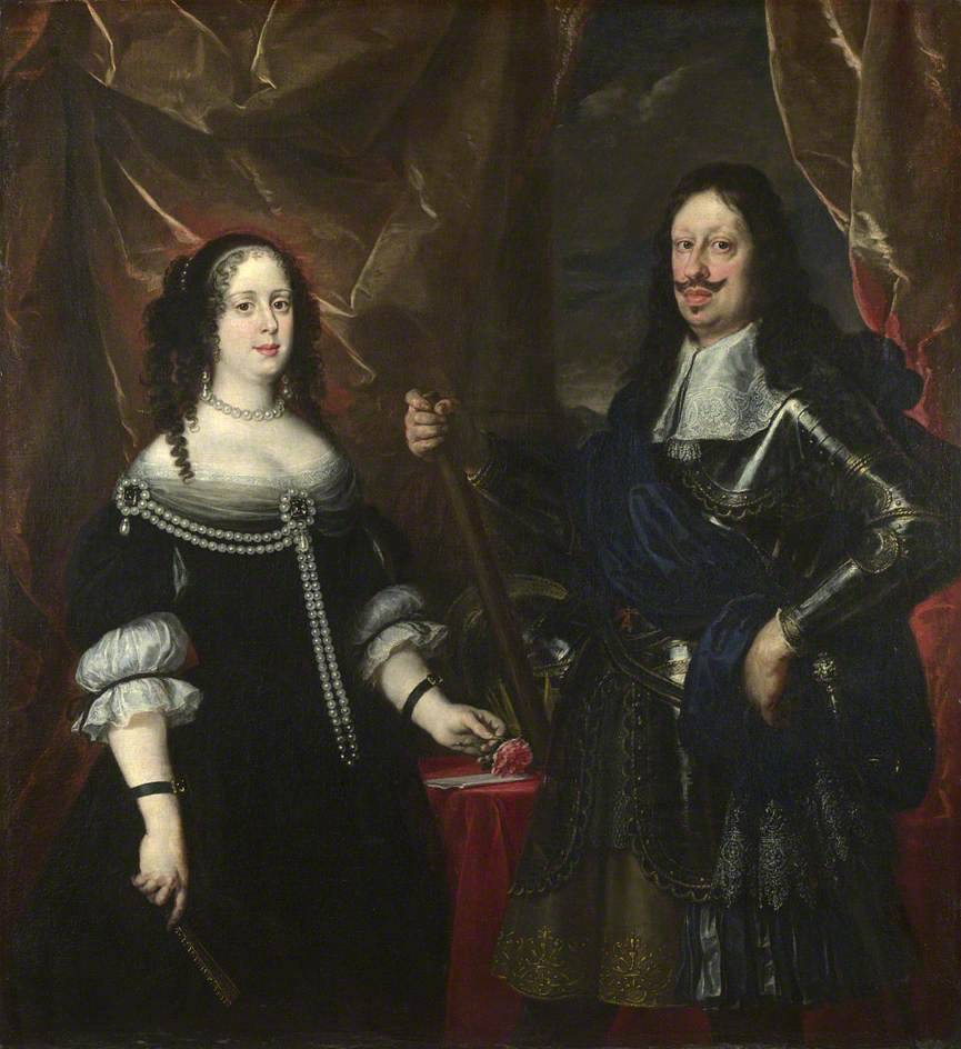 Ferdinand the Second of Tuscany and Vittoria della Rovere by Justus Suttermans, 1597-1681, National Gallery, London