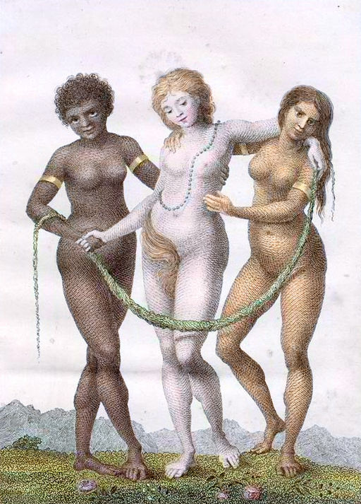 Europe supported by Africa and America by William Blake, 1757-1827
