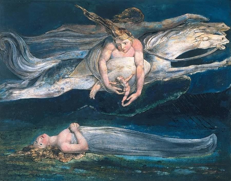 Pity by William Blake, 1757-1827
