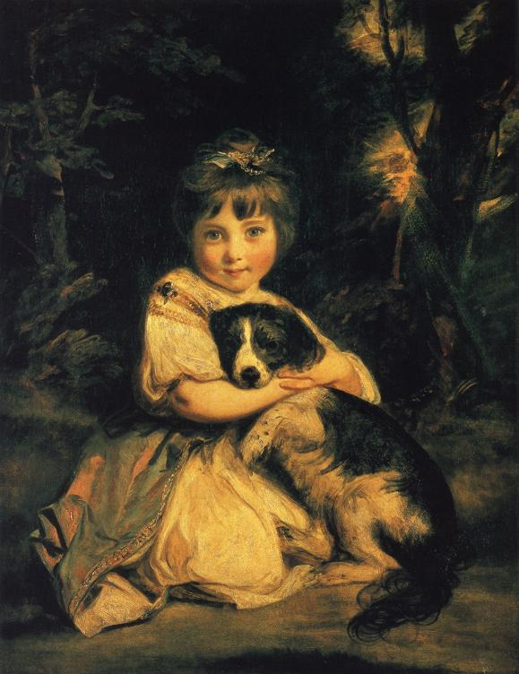 Miss Bowles by Sir Joshua Reynolds, 1723-92, Wallace collection, London