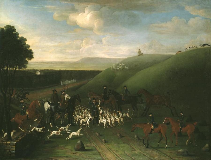 A Kill at Ashdown Park by James Seymour, Tate Gallery, London