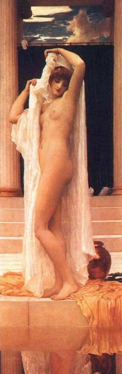Psyche's Bath by Leighton