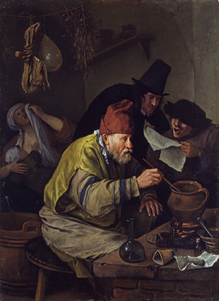 Tavern Scene by Jan Steen, 1626-79, Wallace Collection, London