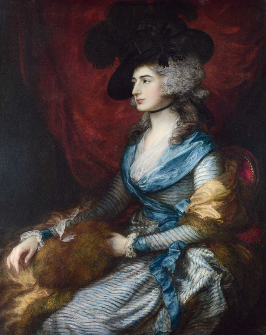 Mrs Siddons by Thomas Gainsborough, 1727-88, National Gallery, London